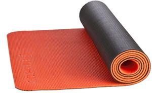179823 ENERGETICS Yoga 2 Couleurs 171 x 60 x 0,6 cm-Noir-Orange