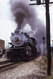 Southern-Railroad-Steam-Locomotive-Train-Original-1973-Photo-Slide