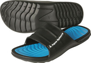 Aqua-Sphere-WAVE-Mens-Aqua-Shoes-Beach-Sandals-Pool-Swimming-Flip-Flops-Slip-On