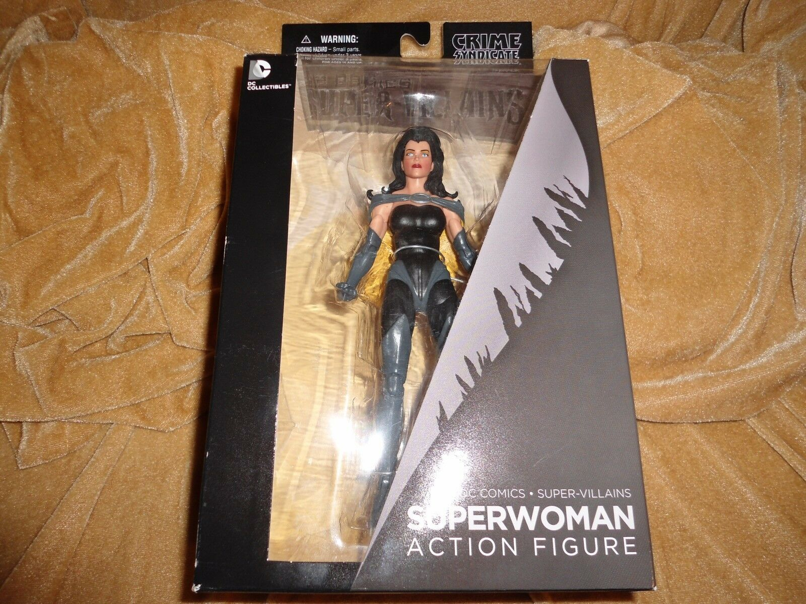 Dc comics and syndikat superschurken  superwoman action - figur