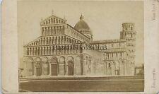 Van Lint Lungarno Pisa Pise Italie Italia cdv Vintage albumine