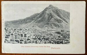 Grand Giant's Causeway Portrush Co Antrim Northern Ireland 1904