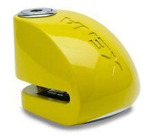 Xena XX6 Alarm Disc Lock Yellow Yamaha FZ6 FZ1 R6 R1 FJR1300