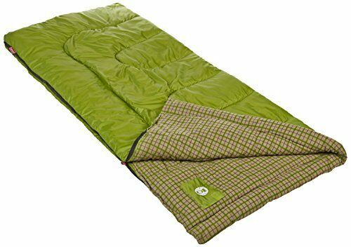 NEW Coleman Green Valley Cool Weather Adult Sleeping Bag FREE SHIPPING