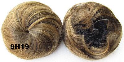 Haarteil Haarverdichtung Hepburn Dutt Haarverlängerung Chignon Hochsteckfrisur