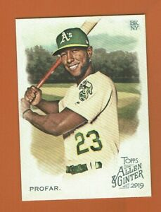 2019-Topps-Allen-amp-Ginter-Jurickson-Profar-223-Oakland-Athletics