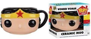 Funko-Pop-Home-DC-Comics-Wonder-Woman-Ceramic-Mug-New-Toy-Vinyl-Figure