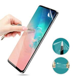 10x CLEAR PET Soft Film Screen Protector for Samsung Galaxy S21+ Note 20 S20 S10