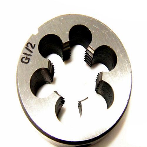 Round Dies Pipe Thread BSP Steel High Duty 1//8 1//4 3//8 1//2 3//4 Right Hand New
