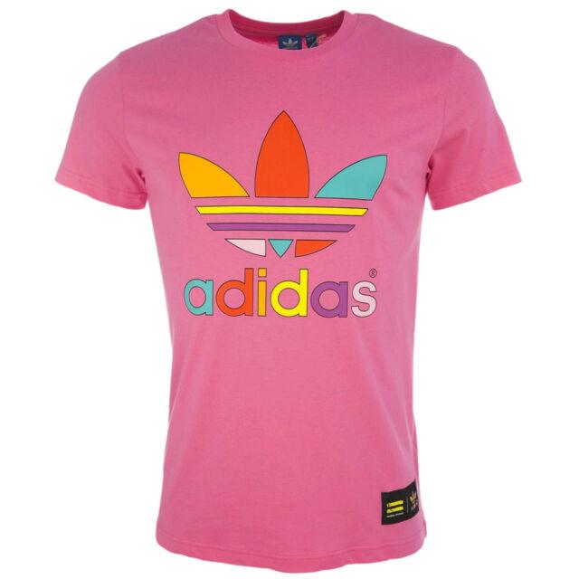 adidas Originals x Pharrell Williams Supercolor Mens Retro Trefoil Print T Shirt
