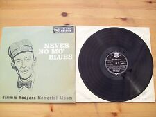 JIMMIE RODGERS MEMORIAL ALBUM. NEVER NO MO` BLUES. ORIGINAL LP (RCA RD 27138)