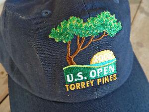 US Open 2008 Torrey Pines Golf Baseball Cap Hat USGA Member Navy  22d1644b428a