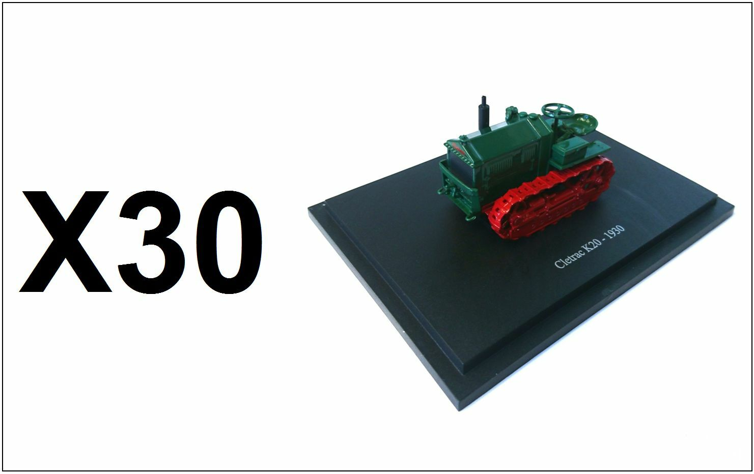 Set di 30 CLETRAC K20 veicoli agricoli 1:43 - Modello Diecast Trattore all'ingrosso BULK