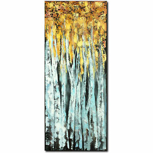 Nova-Arte-abstract-painting-art-acrylic-picture-painting-Modern-Original-Forest-Unique
