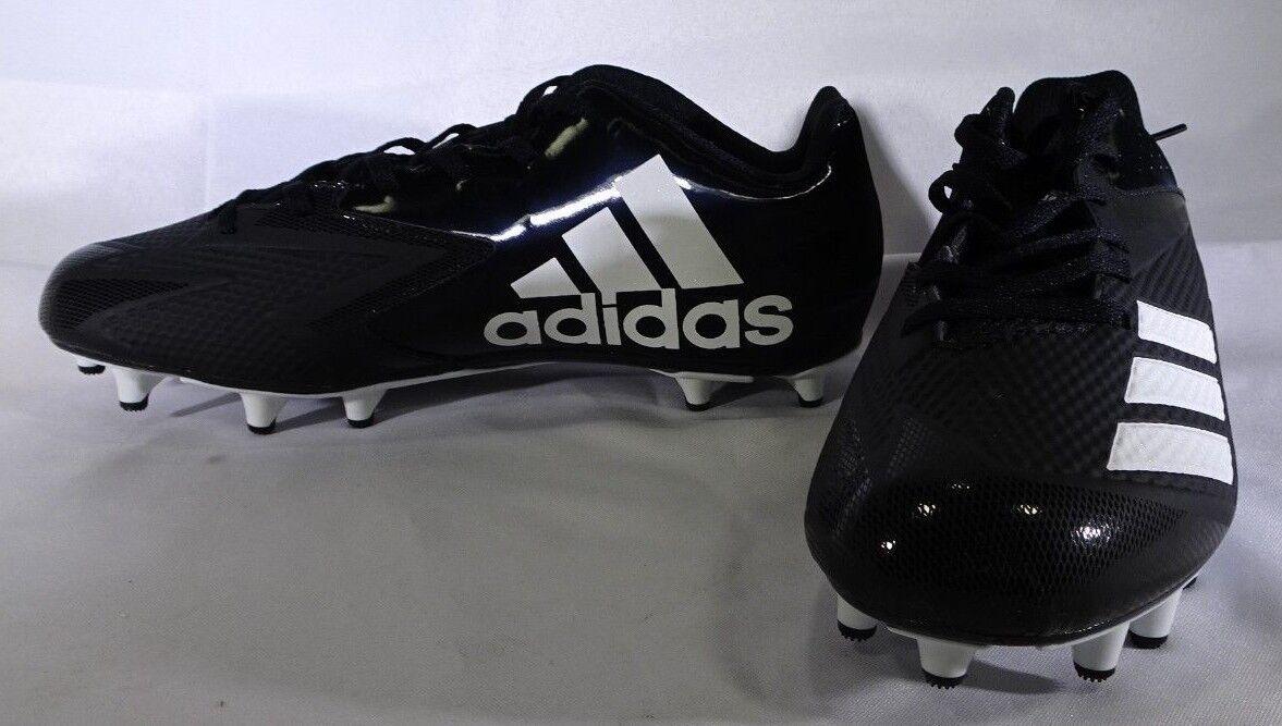 Adidas uomini mostro x 8 carbonio met football scarpe 8 x 1 / 2 di nero / bianco t2 ebb614