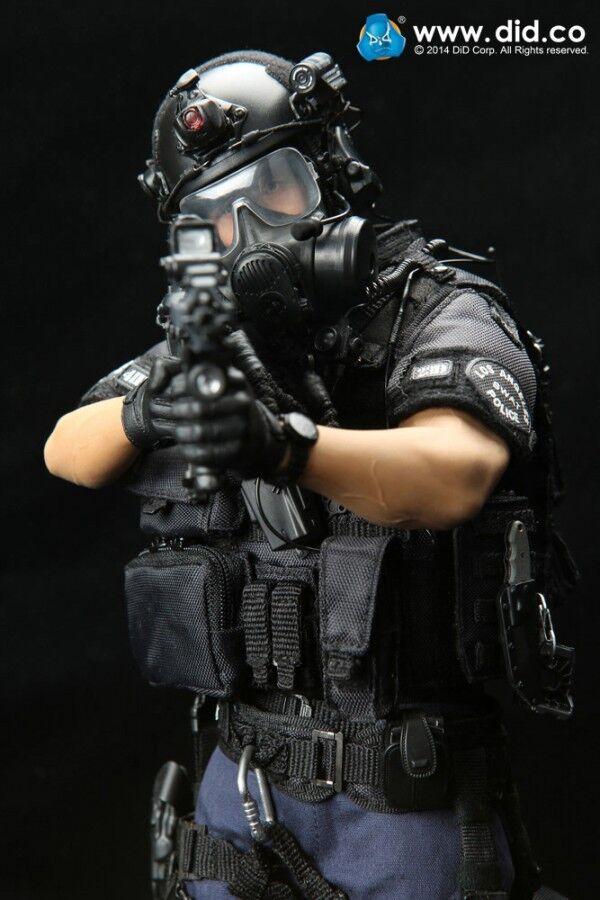Dragón en DREAMS 1/6 Modernas Denver LAPD DID Swat 2 US policía de Los Ángeles MA1006