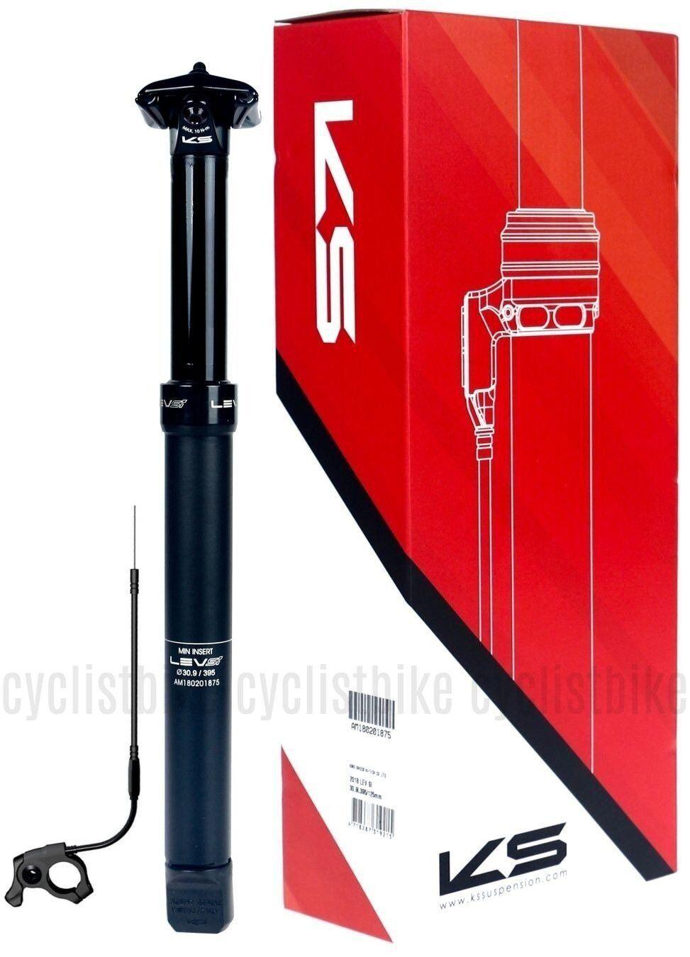 nuovo Version Kind Shock KS LEV SI Adjustable Seatpost 30.9x395 125 Remote NIB