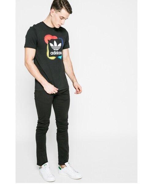 Adidas T Shirt Originals Street Graphique Rectangle T Shirt Adidas