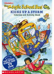 Details about Magic School Bus coloring book RARE UNUSED