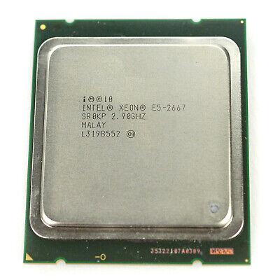 Intel Xeon E5-2667 2.90Ghz 6 Core Processor SR0KP