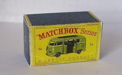 Repro Box Matchbox 1:75 Nr.34 Volkswagen Microvan