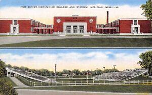 Meridian-Mississippi-High-School-Junior-College-amp-Wildcat-Football-Stadium-1940s