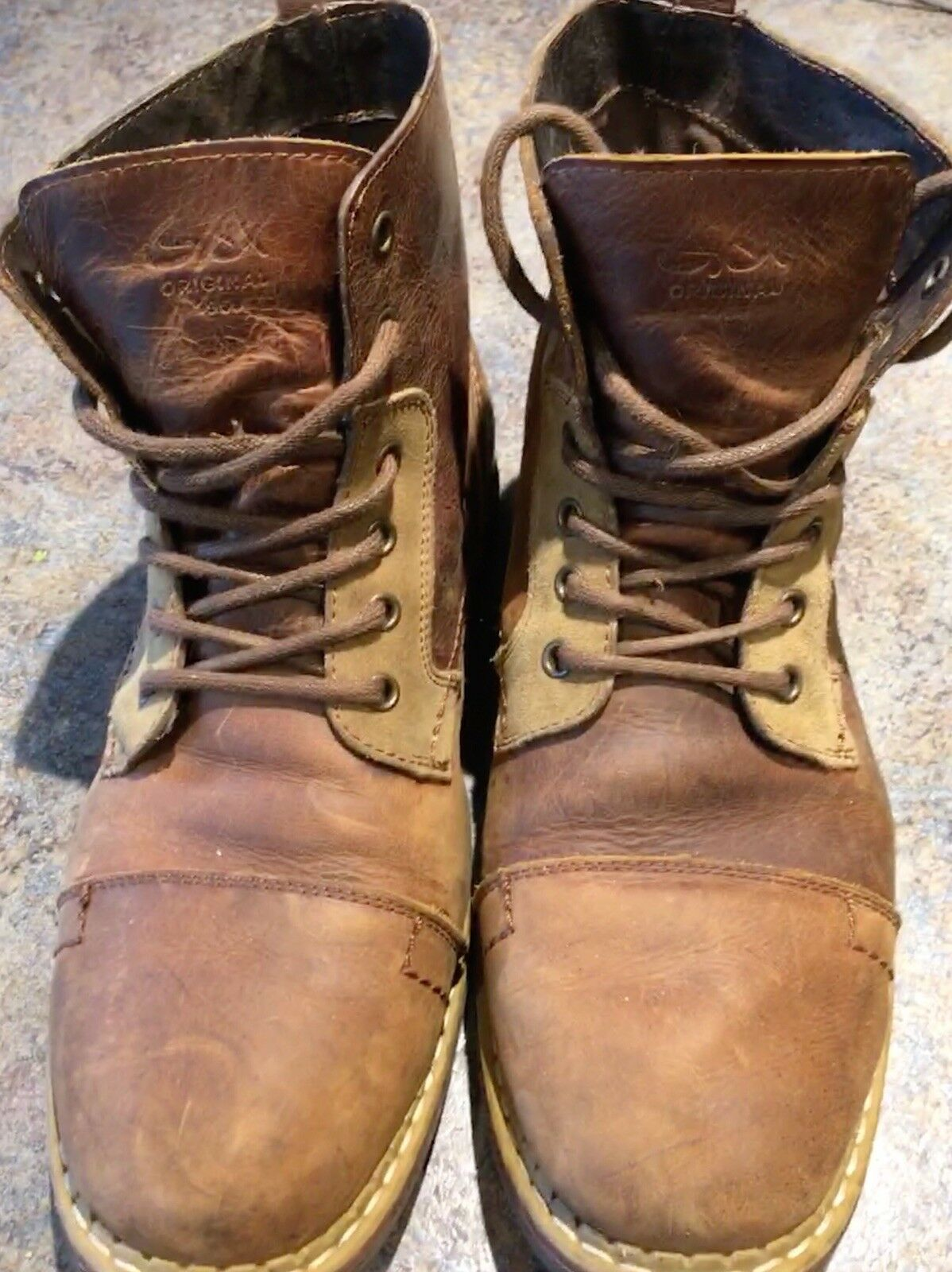 geox leather boots men 10