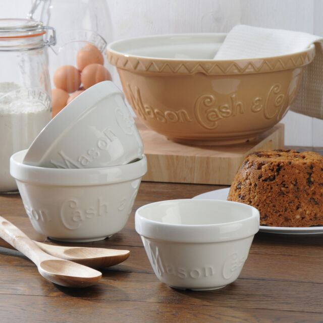 Mason Cash Heritage Pudding Basin - 14cm or 16cm