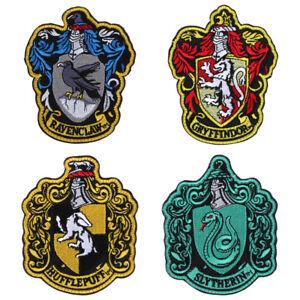 Harry potter ecusson brod ecole gryffondor hufflepuffs blason school patch ebay - Gryffondor blason ...