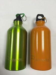 500ml-Sdintel-aluminium-a-la-mode-eau-potable-bouteille-vert-ou-orange