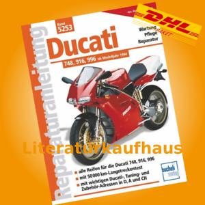 Ducati 748, 916, 996 ab 1994  REPARATURANLEITUNG Reparatur-Handbuch Buch Wartung