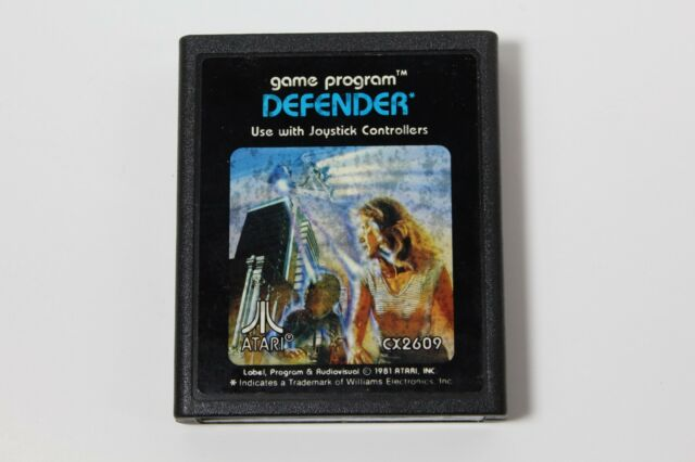 Defender - Atari 2600 - LOOSE - CART ONLY - CLEANED & TESTED