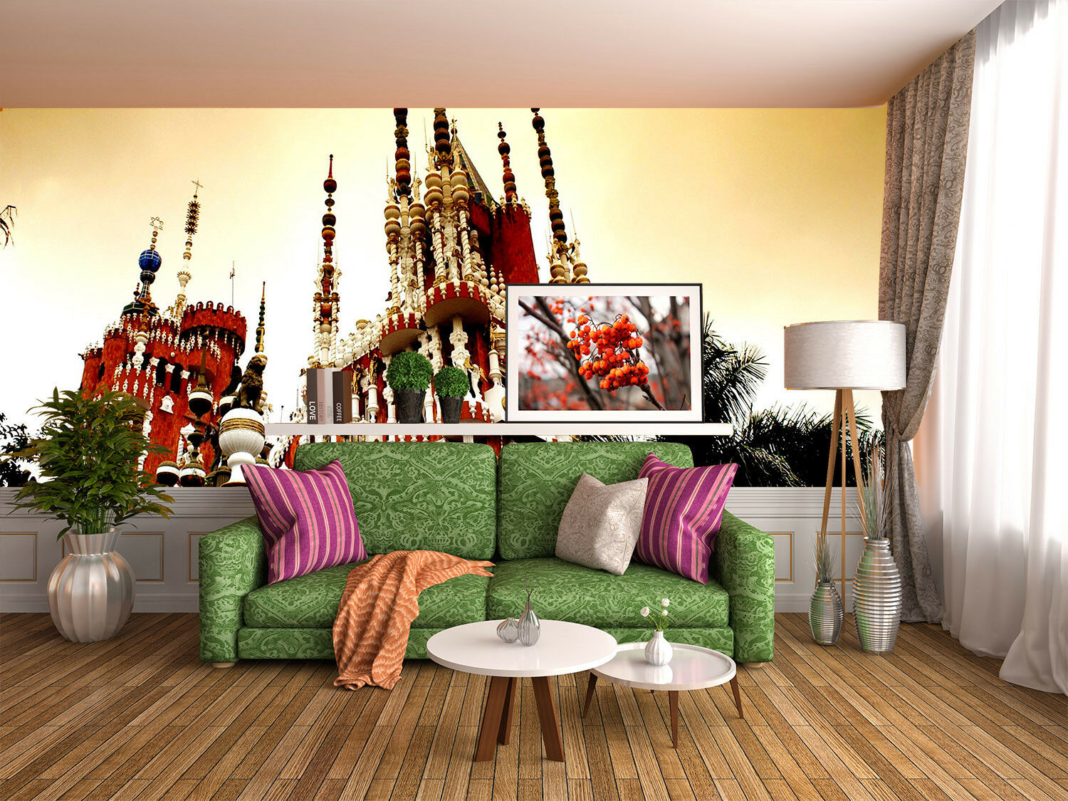 3D Famous Buildings 45 Wall Paper Wall Print Decal Wall Deco Indoor Mural Lemon