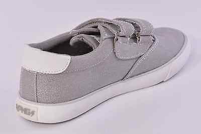 Primigi PMG Olli Boys Grey Canvas Shoes UK 2.5 EU 35 US 3 RRP £28.00
