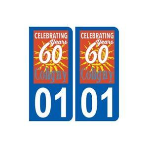 01 Coligny Logo Ville Autocollant Plaque Sticker RafraîChissant Et BéNéFique Pour Les Yeux