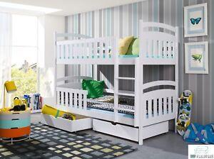 Etagenbett 80x180 Kinderbett Bett Hochbett Stockbett Doppelbett Mit