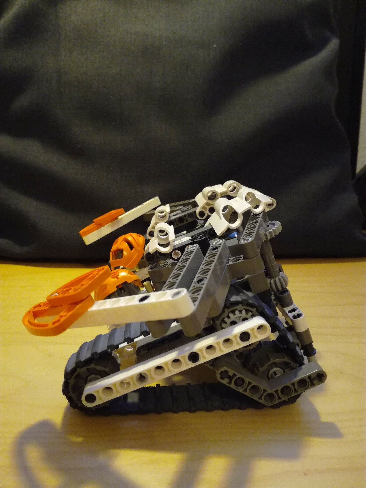 LEGO Bionicle Manas (8539) Orange Orange Orange d02469