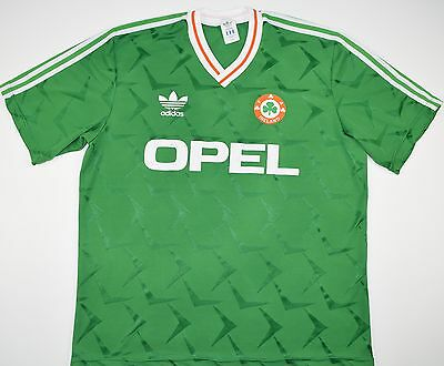 1990-1992 IRELAND ADIDAS HOME FOOTBALL SHIRT (SIZE XL) | eBay