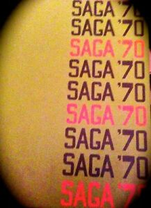 "1970 BLACKFORD HIGH SCHOOL YEARBOOK ""Saga"" ~vol.9 ~San Jose CA"