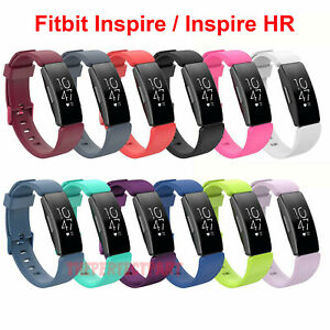 For-Fitbit-Inspire-Inspire-HR-Replacement-Silicone-Wristband-Strap-Watch-Band