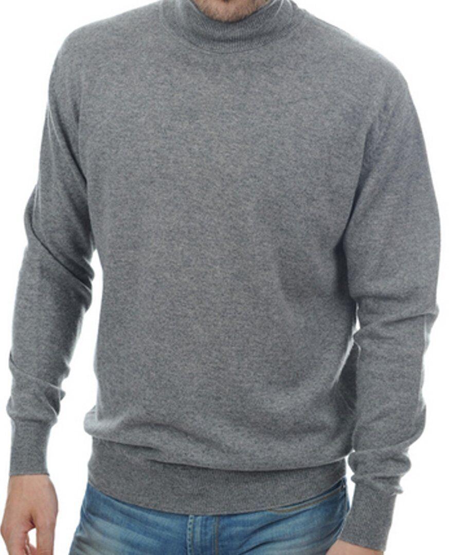 Balldiri 100% Cashmere Kaschmir Herren Rollkragen Pullover 2-fädig grau M     | Outlet Store  | Erste Qualität  | Bestellung willkommen  | Schön geformt  | Vorzugspreis