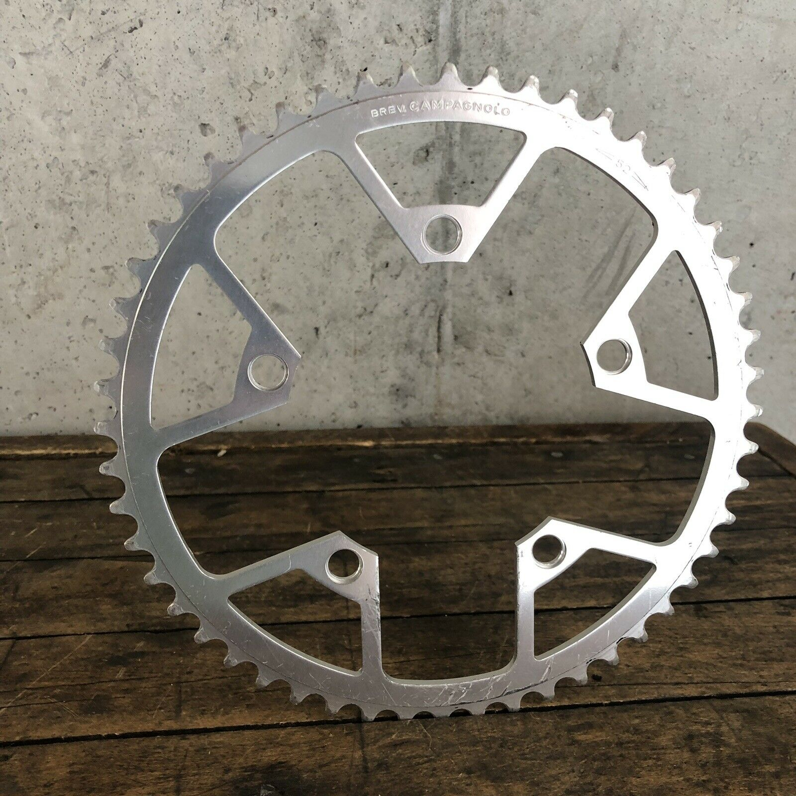 Vintage Campagnolo 52t Chain Ring 116  BCD Triomphe Victory 52 Tooth Y2  save 50%-75%off