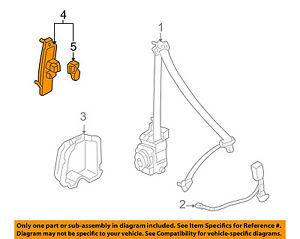 image is loading honda-oem-05-07-accord-front-seat-belt-