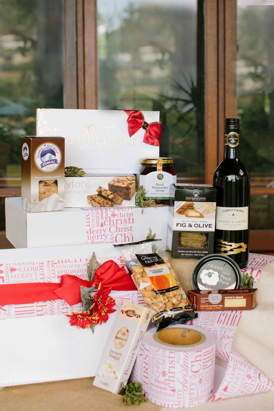 Christmas Cheer Gift hamper Basket - OZ WIDE Delivery -  25 WE ALSO SEND OS