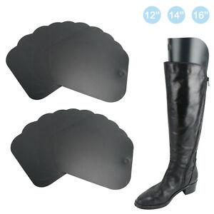 2pcs Plastic Boot Shaper Stretcher Boots Shoe Tree Form Inserts 8//12//16 Inch