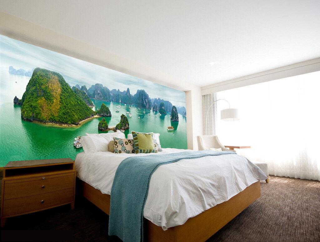 3D Viele Meer Insel 7 Fototapeten Wandbild Fototapete Bild Tapete Familie Kinder