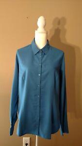 Women-039-s-Van-Heusen-Long-Sleeve-Casual-Dress-Blouse-Size-Large-retail-58