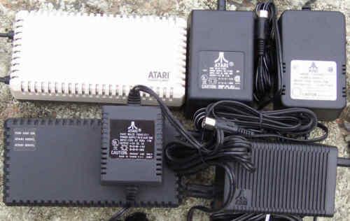 XL//XE Power Adapter 1.0A Orig New Atari Ver#6 The Logo