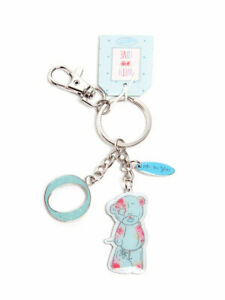 Me-To-You-Tatty-Teddy-Bear-Letter-O-Keyring-with-Charms-by-Carte-Blanche