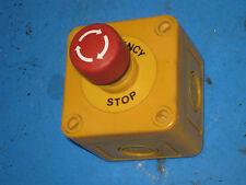 Emergency Stop Button Box Push To Set Twist To Unlock Eao 61 8745 11 5r3